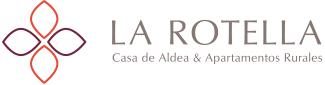 """Casa de Aldea y Apartamentos Rurales """"La Rotella de Xuan y La  Rotella de Xavi"""" en Llames de Pría – Llanes Logo"""